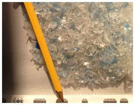 smaltimento e distruzione plastica dura