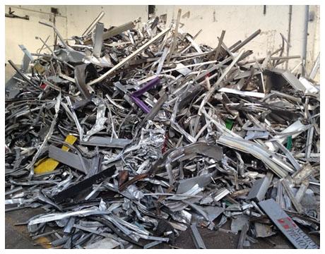 smaltimento e distruzione metalli non ferrosi